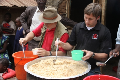 Lunch Time in Kenya